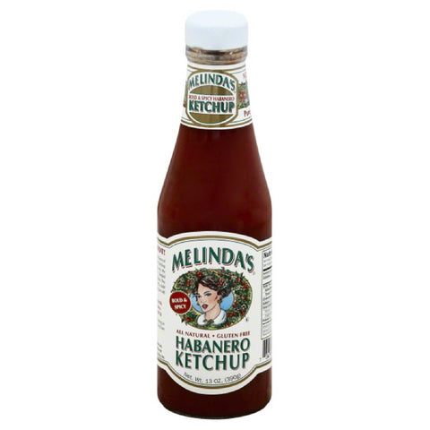 Melindas Bold & Spicy Habanero Ketchup, 14.28 Oz (Pack of 6)