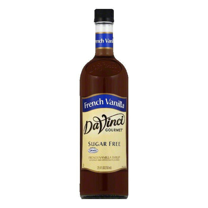 DaVinci Gourmet Classic Syrup French Vanilla Sugar Free, 25.4 OZ (Pack of 12)