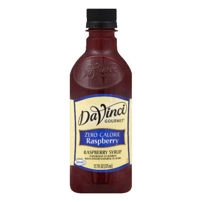 DaVinci Gourmet Zero Calorie Raspberry Syrup, 12.7 Oz (Pack of 6)
