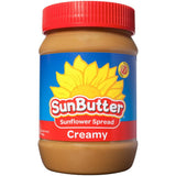 SunButter Creamy Sunflower Spread 16 Oz  (Pack of 6)