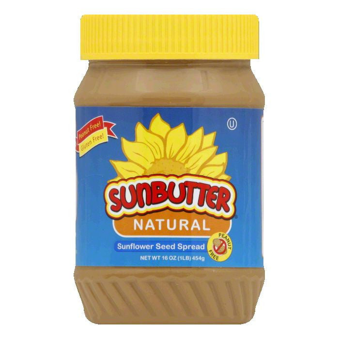 Sunbutter Natural Creamy, 16 OZ (Pack of 6)