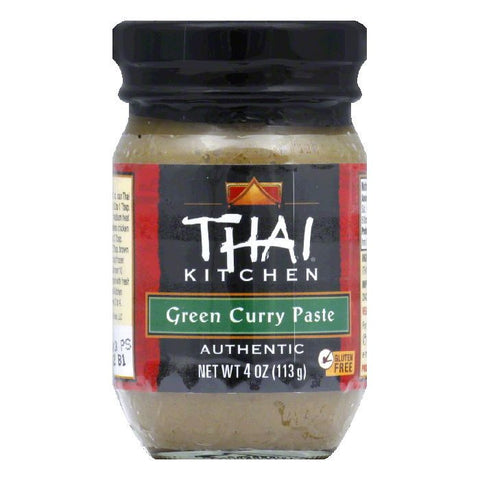Thai Kitchen Gluten Free Paste Green Curry, 4 OZ (Pack of 12)