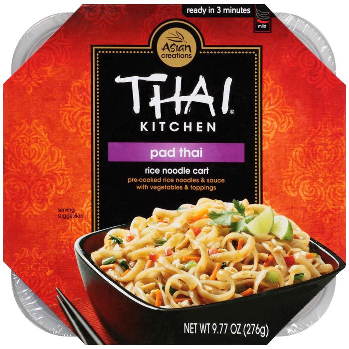 Thai Kitchen Rice Noodle Cart Pad Thai 9.77 Oz Microwave Bowl (Pack of 6)