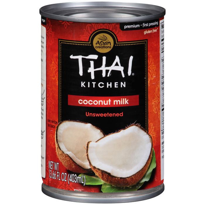 Thai Kitchen Unsweetened Coconut Milk 13.66 fl. Oz  (Pack of 12)