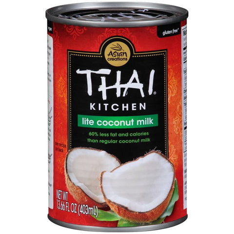 Thai Kitchen Lite Coconut Milk 13.66 fl. Oz  (Pack of 12)