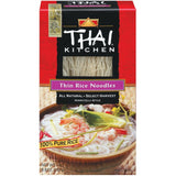 Thai Kitchen TK Thin Rice Noodles Rice Noodles 8.8 Oz  (Pack of 12)
