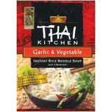 Thai Kitchen TK Garlic & Vegetable  Inst Noodle Instant Rice Noodle Soups 1.6 Oz Bag (Pack of 12)