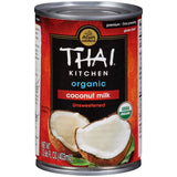 Thai Kitchen Organic Coconut Milk 13.66 fl. Oz  (Pack of 12)