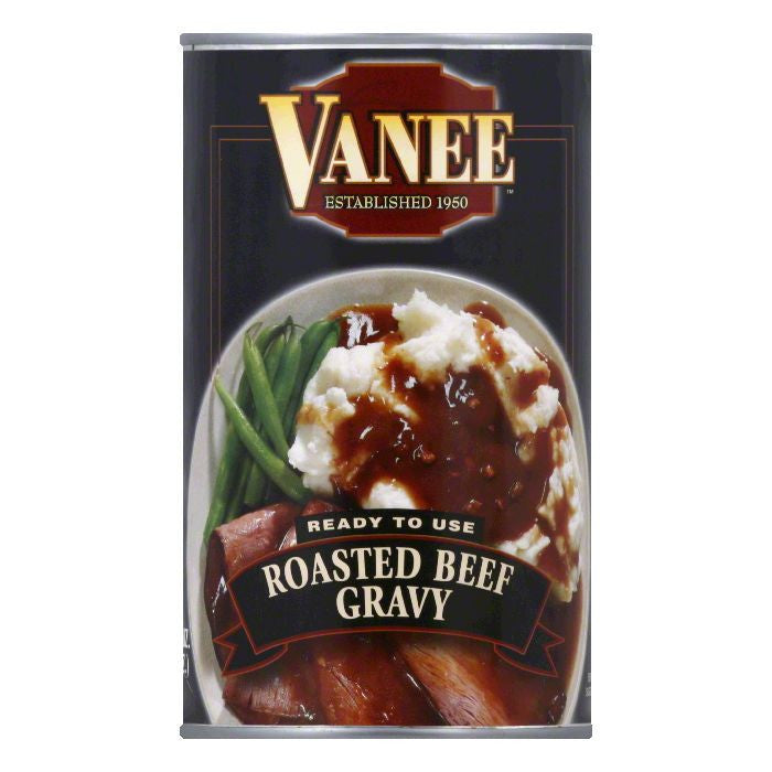 Vanee Roasted Beef Gravy, 50 Oz (Pack of 12)