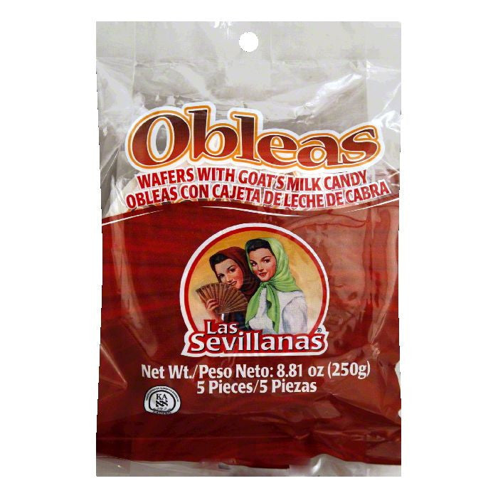 Las Sevillanas Sevillanas Obleas Cajeta, 8.8 OZ (Pack of 15)