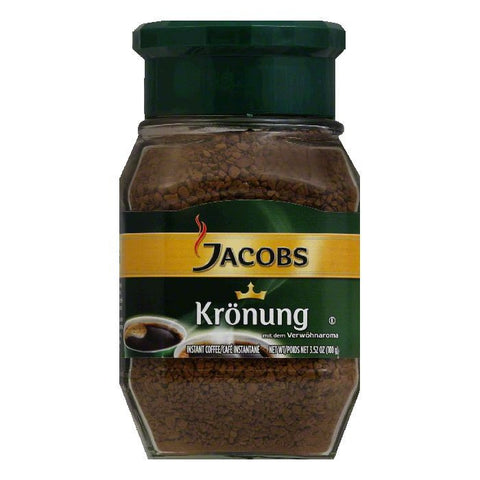 Jacobs Kroenung Coffee Instant, 3.5 OZ (Pack of 6)