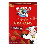 Horizon Cinnamon Snack Grahams, 7.5 Oz (Pack of 12)