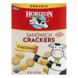 Horizon Cheddar Sandwich Crackers, 7.5 Oz (Pack of 12)