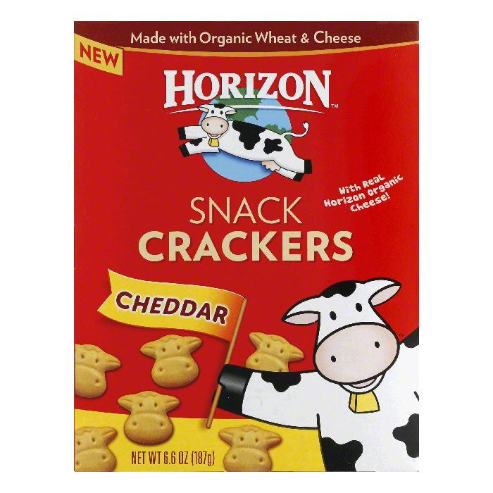 Horizon Cheddar Sandwich Crackers, 6.6 Oz (Pack of 12)