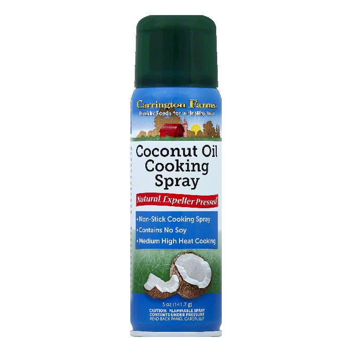 Carrington Farms Coconut Oil Cooking Spray, 5 OZ (Pack of 6)