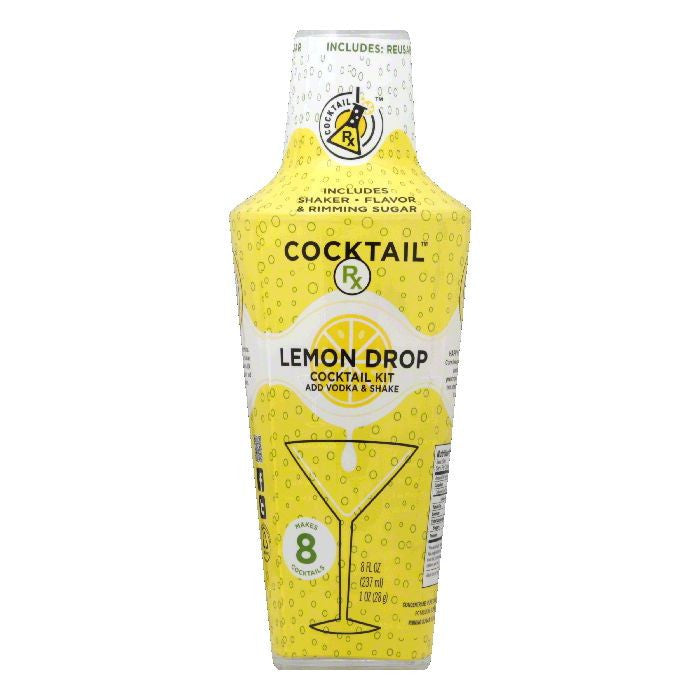 Cocktail Rx Lemon Drop Cocktail Kit, 9 Oz (Pack of 6)