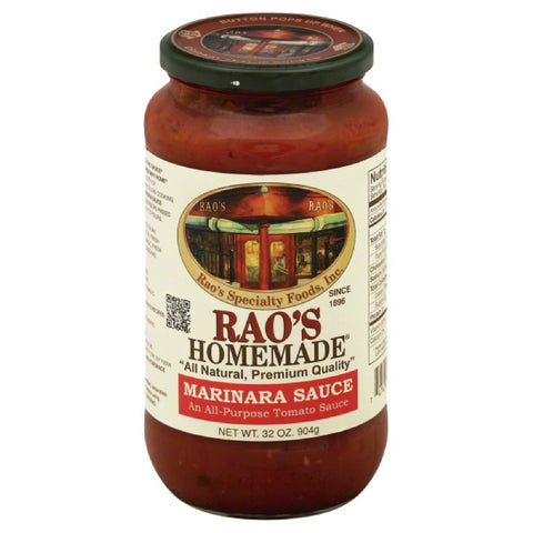 Raos Marinara Sauce, 32 Oz (Pack of 12)