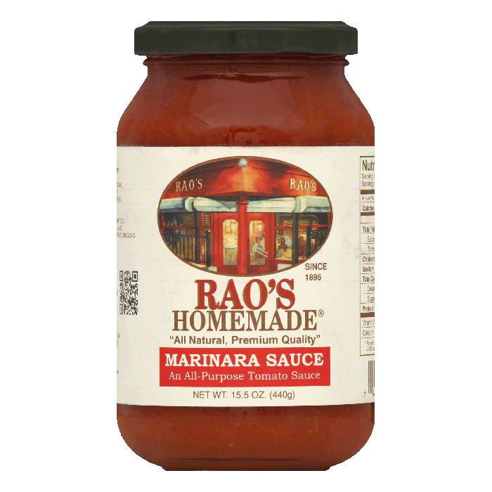Raos Marinara Sauce, 15.5 OZ (Pack of 6)