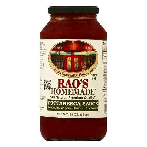 Raos Puttanesca Sauce, 24 OZ (Pack of 6)