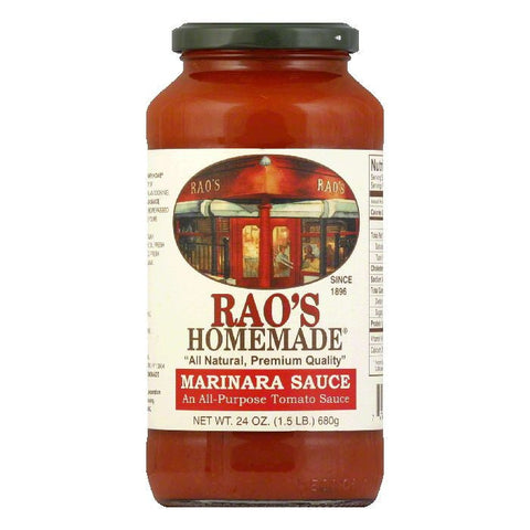 Rao's Sauce Marinara, 24 OZ (Pack of 6)