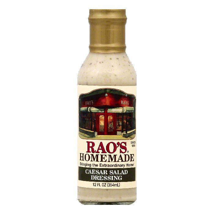 Raos Caesar Salad Dressing, 12 OZ (Pack of 6)