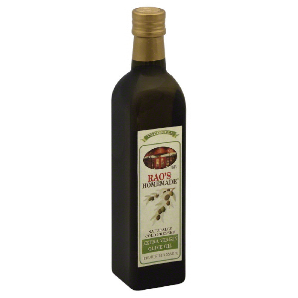 Raos Extra Virgin Olive Oil, 500 Ml (Pack of 12)