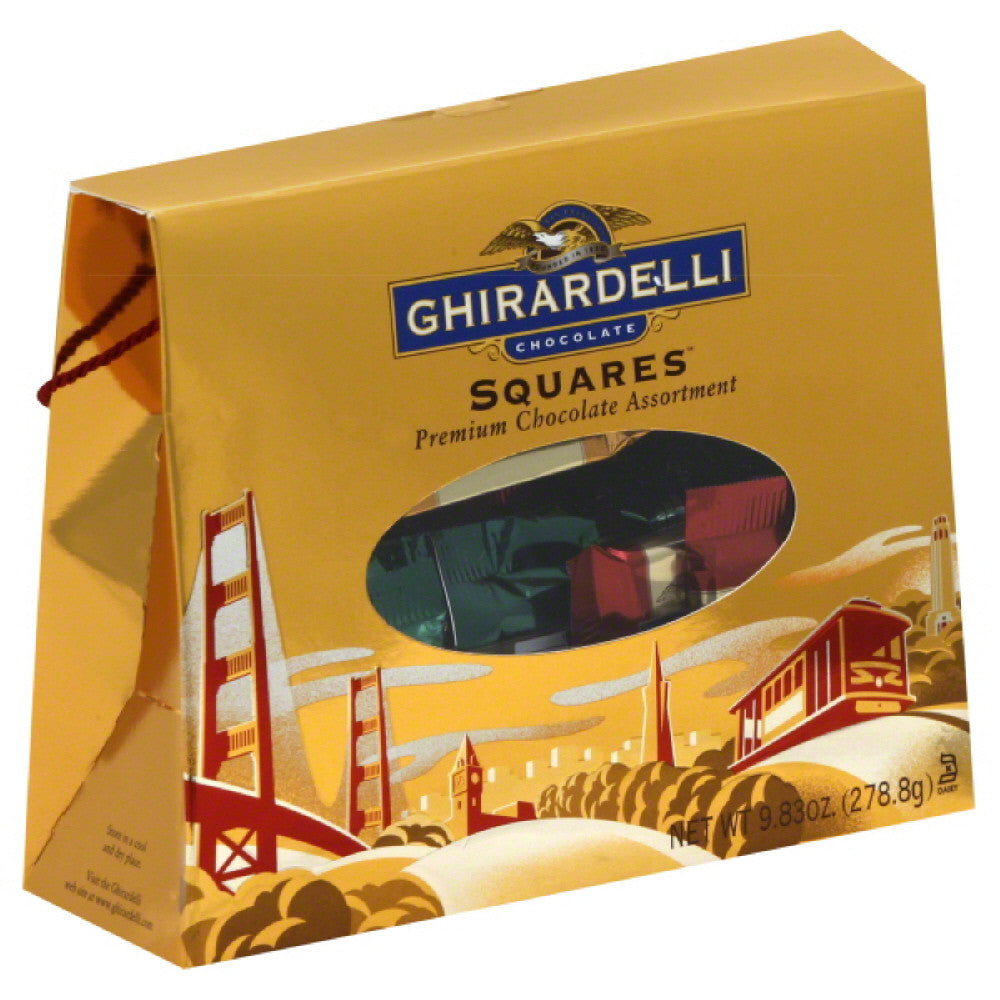 Ghirardelli Premium Assortment Chocolate Squares, 9.83 Oz (Pack of 9)