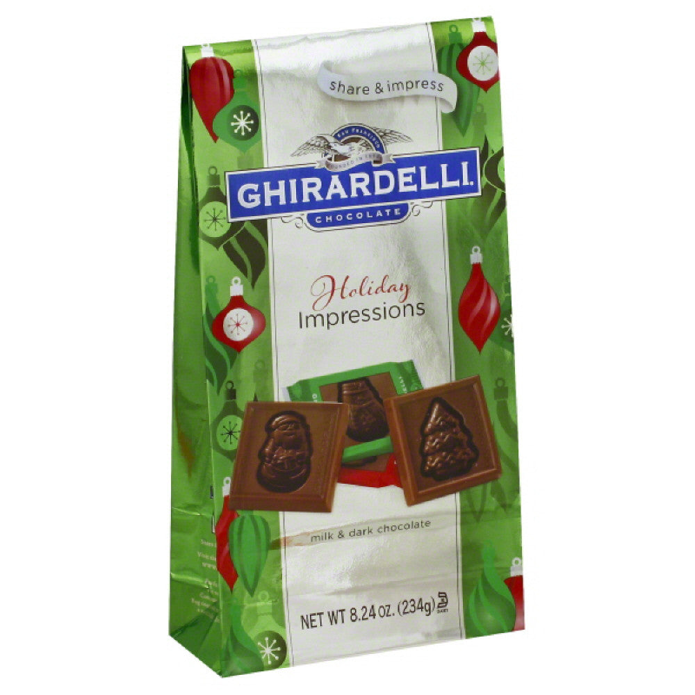 Ghirardelli Milk & Dark Chocolate, 8.24 Oz (Pack of 12)
