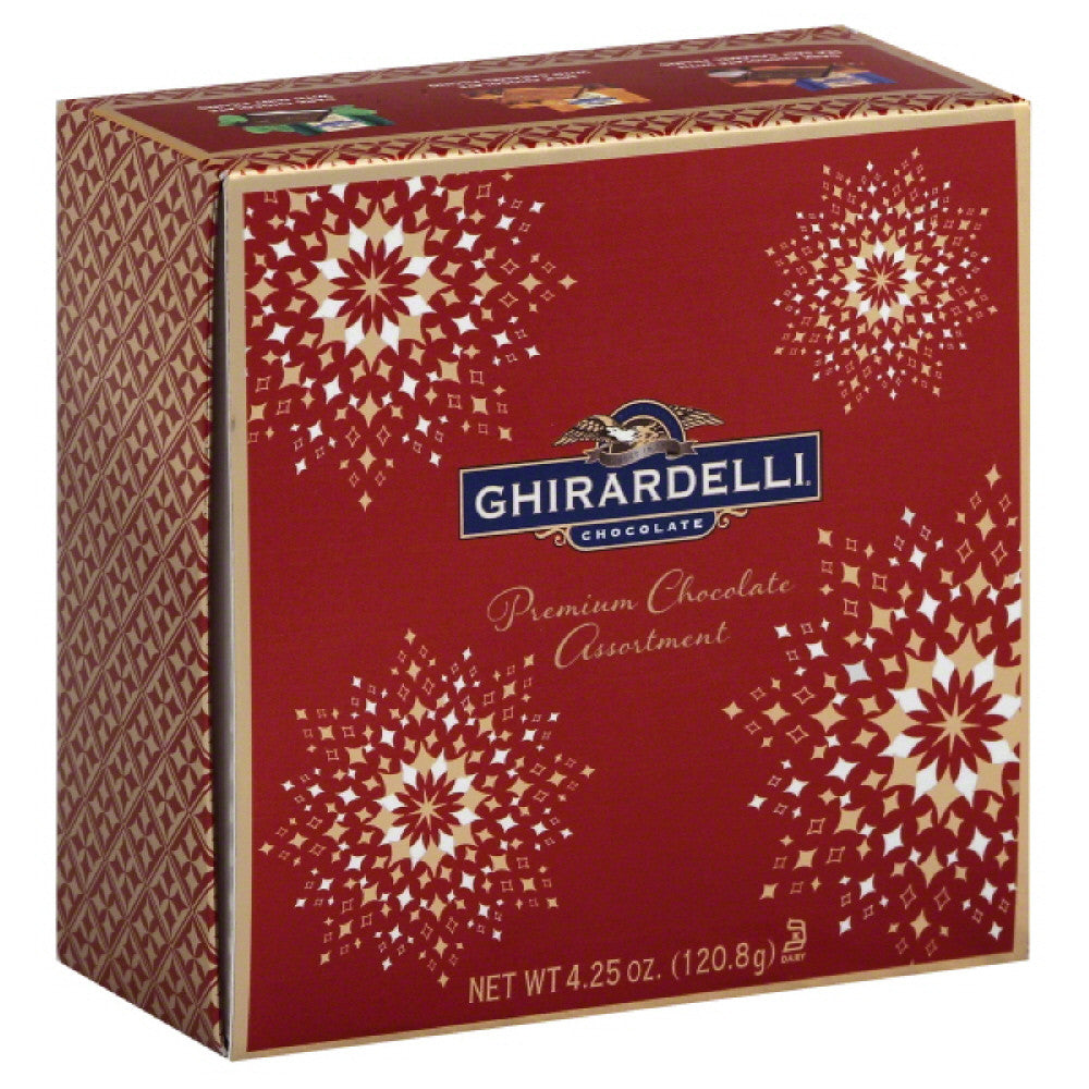 Ghirardelli Premium Chocolate Assortment Chocolate, 4.25 Oz (Pack of 12)