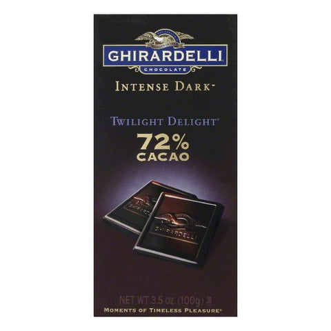 Ghirardelli Bar Twilight Delight, 3.5 OZ (Pack of 12)