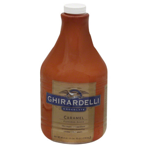 Ghirardelli Caramel Flavored Sauce, 90.4 Fo (Pack of 6)