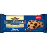 Ghirardelli Chocolate Milk Chocolate Baking Chips 11.5 Oz Bag (Pack of 12)