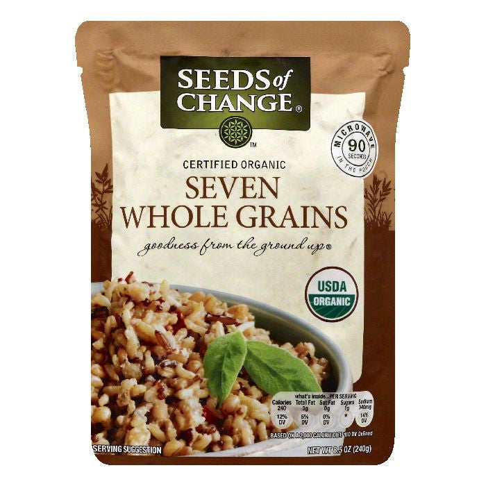 Seeds Of Change Seven Whole Grains, 8.5 OZ (Pack of 12)