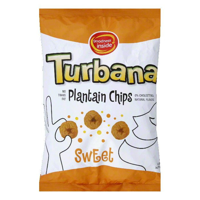 Turbana Sweet Plantain Chip, 7 OZ (Pack of 12)
