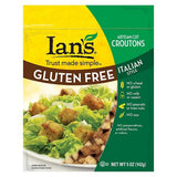 Ians Artisan-Cut Croutons Italian Style, 5 OZ (Pack of 8)