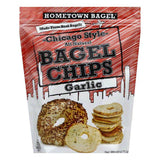 Hometown Bagel Garlic Bagel Chip, 6 OZ (Pack of 12)