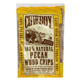 Cowboy Charcoal Pecan Wood Chip, 2.95 LT (Pack of 6)