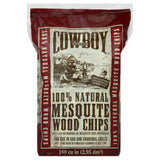 Cowboy Mesquite Wood Chips, 2 Lb (Pack of 6)