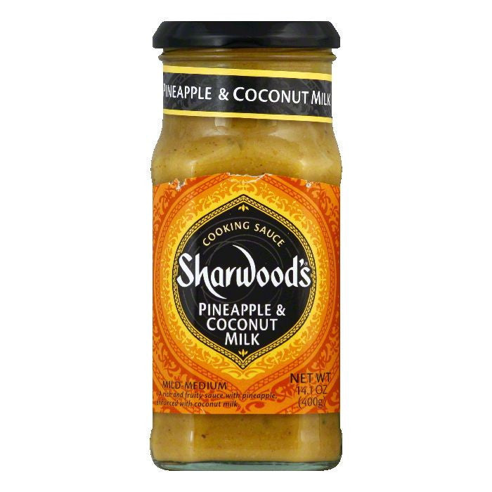 Sharwood Pineapple Coconut Cooking Sauce, 14.1 OZ (Pack of 6)