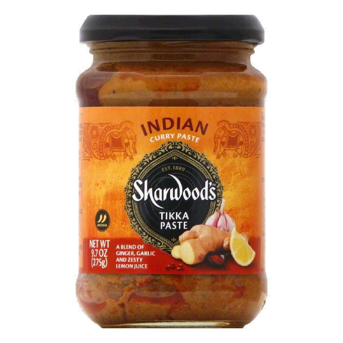 Sharwoods Medium Tikka Paste, 9.7 Oz (Pack of 6)