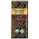 Newman's Own Organics Super Dark Chocolate, 3.25 OZ (Pack of 12)