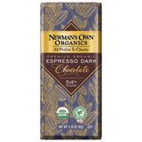 Newmans Own Organics 54% Cocoa Espresso Dark Chocolate, 3.25 OZ (Pack of 12)