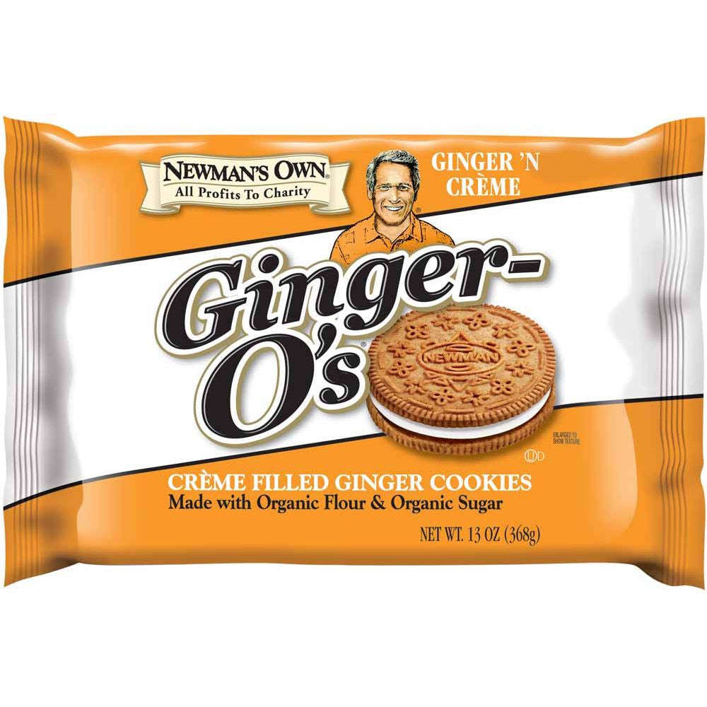 Newman's Ginger-O's Cookie, 13 OZ (Pack of 6)