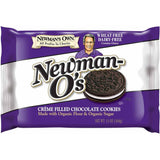 Newman's Own Organics Wheat Free & Dairy Free Newman-O's Vanilla Cr?ªme Cookie, 13 OZ (Pack of 6)