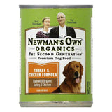 Newmans Own Organics Turkey & Chicken Formula Premium Dog Food, 12.7 OZ (Pack of 6)