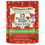 Newman's Own Organics Dog Treats Training Chicken and Vegetable, 4 OZ (Pack of 12)