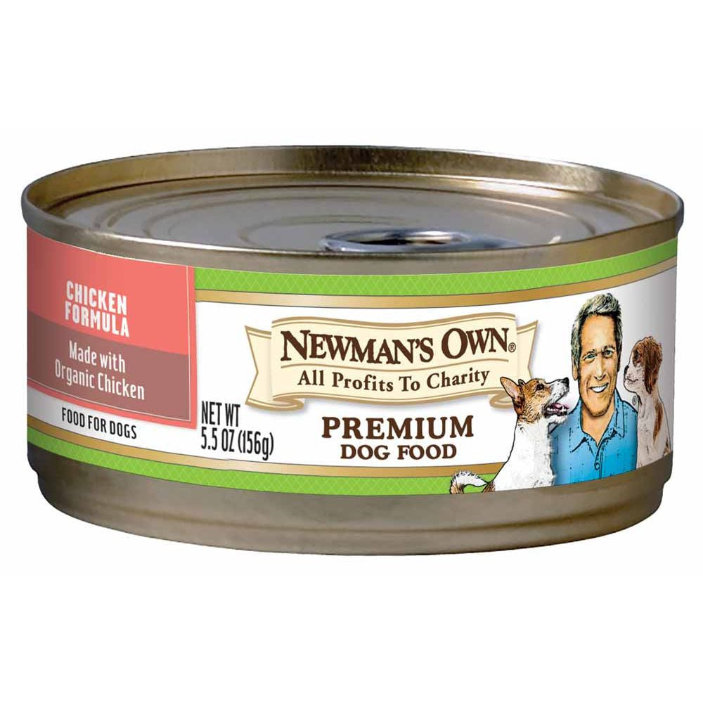 Newman's Own Organics Can Chicken Formula Dog Food, 5.5 OZ (Pack of 24)