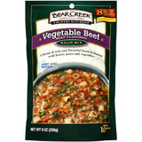 Bear Creek Country Kitchens Vegetable Beef Soup Mix 9 Oz (Pack of 6)