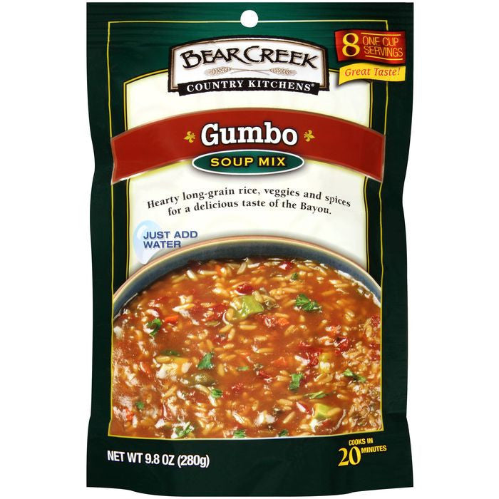 Bear Creek Country Kitchens Gumbo Soup Mix 9.8 Oz (Pack of 6)