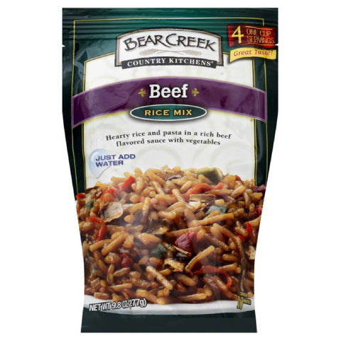 Bear Creek Beef Rice Mix, 9.8 Oz (Pack of 6)